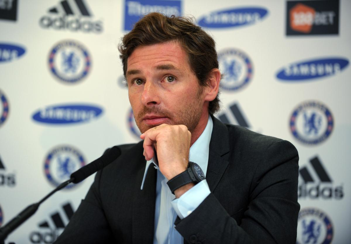 Andre Villas Boas Manager Chelsea 2011/12
