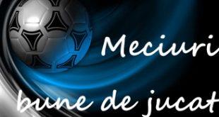 Meciuri bune de pariat www.bettinginside.ro