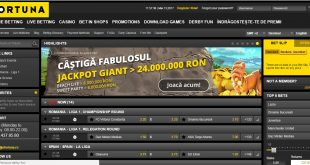 Tipuri de pariuri la Fortuna www.bettinginside.ro