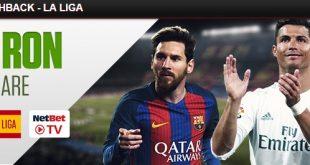 Cashback 150 RON la Netbet pe La Liga