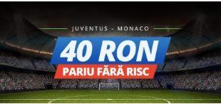 Pariu fără risc la meciul Juventus - Monaco www.bettinginside.ro