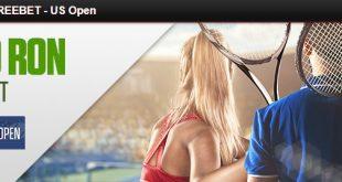 2 X 50 RON FREEBET - US Open