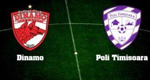 Dinamo București - Poli Timișoara