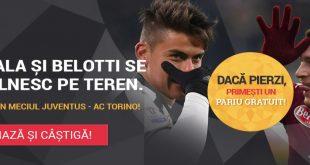Pariu FĂRĂ RISC pe Juventus - AC Torino