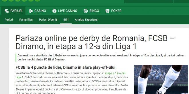 derby de România