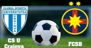 CSU Craiova - FC Steaua București