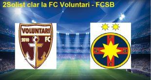FC Voluntari - Steaua București
