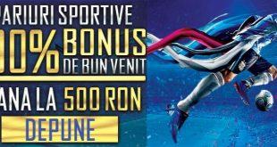 Baumbet bonus de start de 500 lei