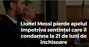 Messi pierde la apel