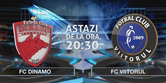 Avancronica meciului FC Viitorul - Dinamo  |Viitorul Dinamo
