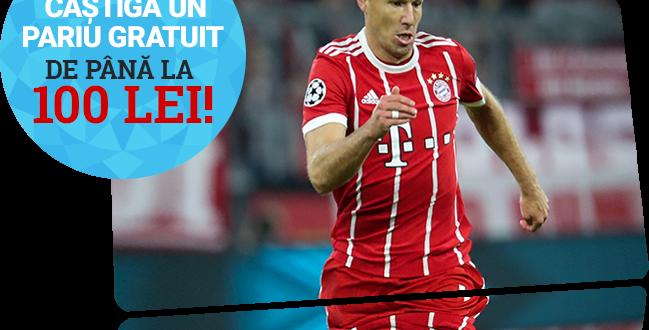 pariu fără risc pe Leipzig - Bayern Munchen