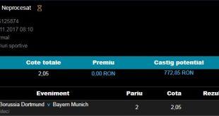 Borussia Dortumnd - Bayern Munchen