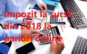 Impozitul la sursa pentru pariurile online