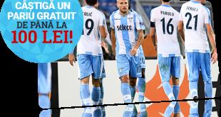 Pariu fără risc de 100 RON pe Lazio - Juventus