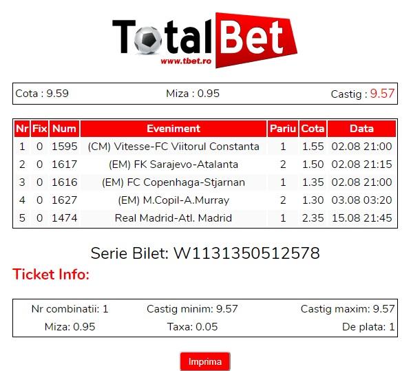 Total Bet
