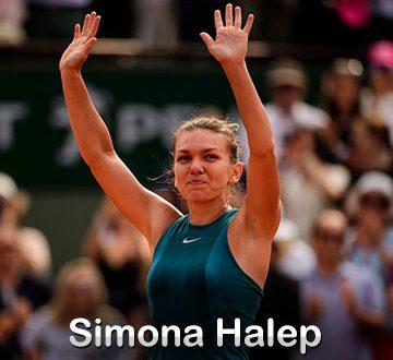 Simona Halep la US Open 2018