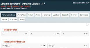 Dinamo București - Dunărea Călărași