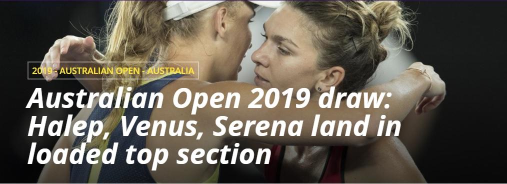 Australian Open 2019 ATP