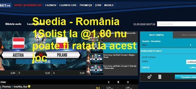 Suedia - România
