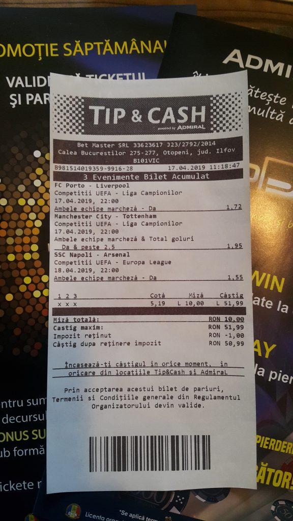 TIP & CASH