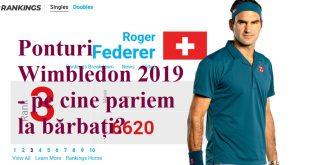 Ponturi Wimbledon 2019 - pe cine pariem la bărbați?