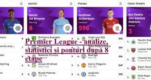 Premier League - analize