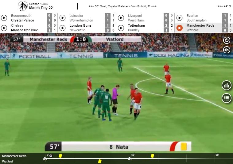 VLMF - pariuri virtuale pe fotbal