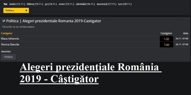Alegeri prezidențiale România 2019 - Câștigător