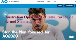 Australian Open 2020 - Primul turneu de Grand Slam al anului