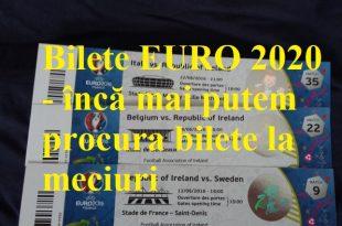 Bilete EURO 2020 - încă mai putem procura bilete la meciuri