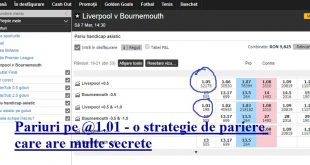 Pariuri pe @1.01 - o strategie de pariere care are multe secrete