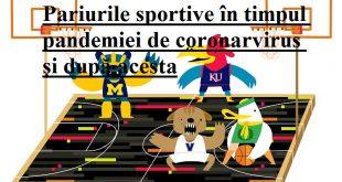 Pariurile sportive în timpul pandemiei de coronarvirus și după acesta