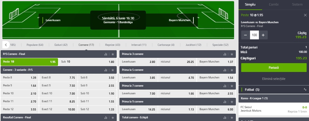 Cele mai bune pariuri și cote la Leverkusen - Bayern Munchen