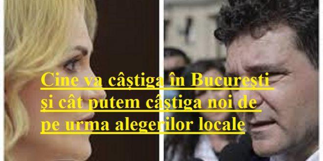 Cine va câștiga în București și cât putem câștiga noi de pe urma alegerilor locale