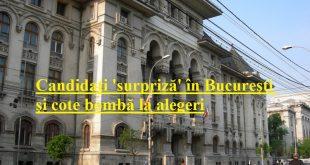 Candidați 'surpriză' în București și cote bombă la alegeri