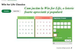 Cum jucăm la Win for Life