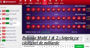 Polonia Multi 1 & 2 - loteria cu castiguri de miliarde