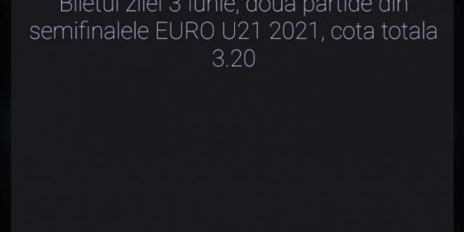 Biletul zilei 3 Iunie 2021