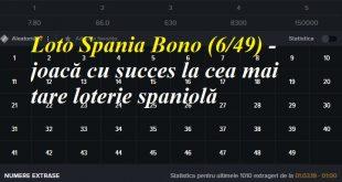 Loto Spania Bono (649) - joacă cu succes la cea mai tare loterie spaniolă