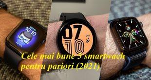Cele mai bune 5 smartwach pentru pariori (2021)
